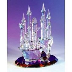 Beautiful Crystal Figurine of a castle