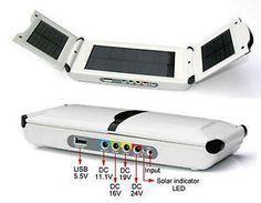 Solar Power-Station 12000 mA/h für Laptop, Handy, iPhone, MP4, iPad, Digicam,GPS. Schon alle Geschenke gekauft, hier ein Vorschlag !?
