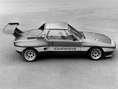 Fiat/Dallara X1/9 silhouette racer.  Dallara went so far as to create a twin-cam 16-valve head for the 1300 SOHC engine.
