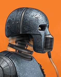 Star Wars: 2-1B by Mike Mitchell