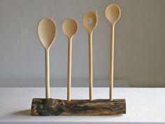 Kochlöffelblock+aus+Treibholz,für+Kochfans+von+Schlueter-Home-Design+auf+DaWanda.com