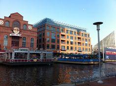 Baltimore Harbor in Baltimore, MD