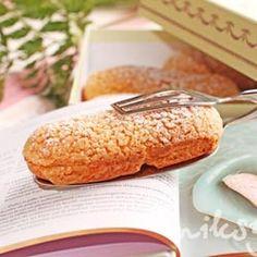 Vanilla eclairs recipe for Laduree. (in Russian)