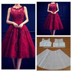 Basic lace dress pattern. Size by request Order via line : @modelliste (with @) #dresspattern#modellistepattern#poladress#jualpola#jasapola#polabaju#jualpoladress#jasapembuatanpola#polapakaian#polatunik#polaatasan#polablouse#atasanwanita#tunicpattern#tunik#blouse#blousepattern#lacedress#polabustier#polabajupesta#polagown#reddress#patterndrafting#patterndrafter