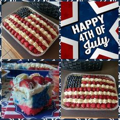 Kate Bakes Cakes: A Cake United...Looking for a dessert that is as easy to make as it is delicious and patriotic for your 4th of July BBQs today and tomorrow? I've got you covered with this red, white, and blue tie-dye berry American flag cake. Let freedom ring via your taste buds!