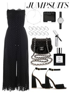 """Untitled #5353"" by theeuropeancloset on Polyvore featuring Zimmermann, Chanel, Jennifer Zeuner, ASOS, Bobbi Brown Cosmetics, NARS Cosmetics, Skagen and jumpsuits"