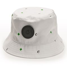 Medicated Bucket Hat (White)