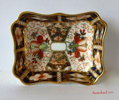 Royal Crown Derby England (c.1923) 'Traditional Imari' (#2451) Pin Dish   Sold eBay £16.99