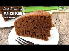 Dark Brown Sugar Ma Lai Koh (with Yeast)   MyKitchen101en.com