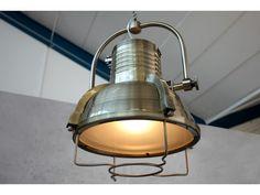 Suspension en bronze industriel Loft 35 cm
