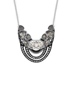 Swarovski Crystal Stainless Steel Divine Medium Necklace