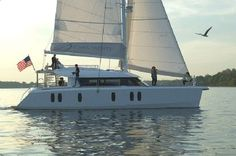 Isara 45 Catamaran Charter, 4+2 cabins, 8+2 berths. Available for charter in Greece. Elegant, comfortable and spacious.