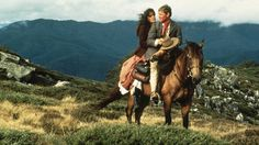 The Man From Snowy River & Return To Snowy River. It has everything: beautiful scenery (not just nature... aka Tom Burlinson...), Austrailian accents, and the most beautiful horses ever!