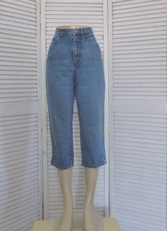 Vintage 90s Gitano High Waisted Denim Jeans Hipster Mom Jeans