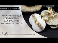 In this video tutorial I want to show you, how to make beautiful polymer clay…