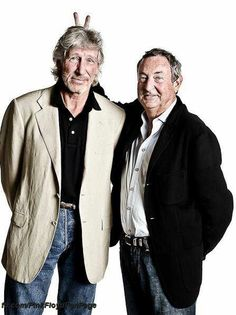 Roger Waters and Nick Mason