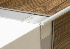 Aluminium stair edging for or luxury vinyl tile(LVT) flooring Stairs Trim, Stairs Edge, Floor Edging, Step Edging, Luxury Vinyl Flooring, Luxury Vinyl Tile, Laminate Flooring On Stairs, Stairs Vinyl, Bungalow