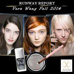 Vera Wang Fall 2014: Silver Lids and Gunmetal Nails  #luxielush #mua #beautyblog #vegan #makeupartist #beauty #verawangmakeup   Vera Wang Fall 2014 Runway Makeup