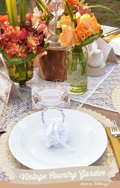 How to Present Place Cards to Suit Your Wedding Theme - Unique Wedding Ideas from the Wedding Bistro at Bellenza