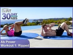 Ab Power Workout 1: Ripped | 30 DAY 6 PACK ABS