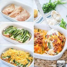 All of the delicious flavor of cream cheese jalapeño poppers are stuffed into this Jalapeño Popper Chicken Casserole recipe to make a quick, easy, and over the top tasty dinner. You will find tender chicken breast layered with cream cheese and topped with fresh jalapeño peppers and rich cheddar cheese and finished off with the...Read More