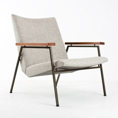 For sale through RetroStart: Lotus Lounge Chair from the fifties by Rob Parry for Gelderland | #41937
