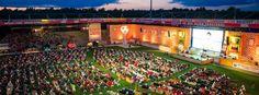Public Viewing im Stadion an der Alten Försterei Berlin: Während der WM war immer etwas los