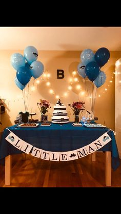 Baby Shower Little Man