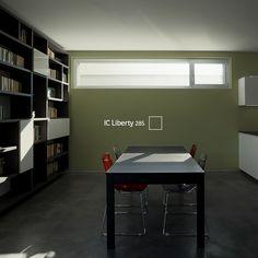 Los espacios de trabajo necesitan un #COLOR que te diga que tu imaginación puede ir más allá. #decoración #libertad #color #espacios