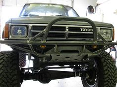 Toyota Pickup 4x4, Toyota Trucks, Chevy Trucks, 4x4 Parts, Jeep Parts, Flatbed Truck Beds, Overland Truck, Car Parts And Accessories, Tonneau Cover