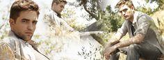 További Gorgeous Robert Pattinson Facebook Covers