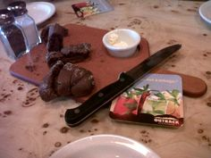Outback's Chocolate baguette.