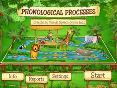 Carrie's Speech Corner App Review & Giveaway: Phonological Processes by Virtual Speech Center.