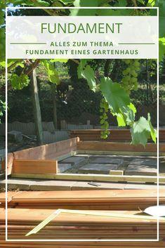 Fundament Gartenhaus: Sie Sind Sich Unsicher, Ob Sie Selbst Ein Fundament  Bauen Oder Ein