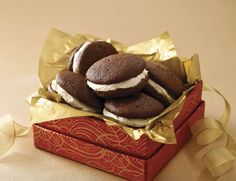 The perfect, home-cooked gift -- Triple-Chocolate Whoopie Pies.