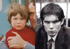 I think this is a young Cillian Murphy. How cute!