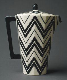 Art Deco Coffee Pot (c.1912) by Pavel Janák http://royalmlm.wellnesscoffee.eu/financial_independence