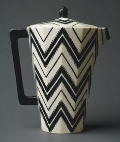 1910s: Coffee Pot by Pavel Janák 1912.