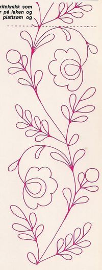 Crewel Embroidery - Long & Short as Soft Shading in Colors - Embroidery Patterns Bordados Tambour, Tambour Embroidery, Hand Embroidery Patterns, Ribbon Embroidery, Cross Stitch Embroidery, Machine Embroidery, Mexican Embroidery, Free Motion Quilting, Fabric Painting