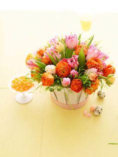 Decorazioni e centrotavola Pasquali - L'arte di decorare con il linguaggio dei fiori