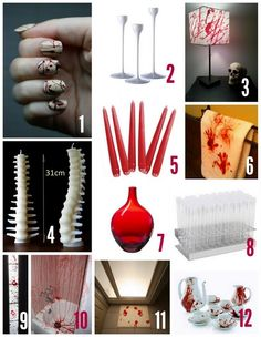 New Halloween post up: Dexter-themed party concept.