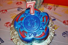 Beyblade Birthday Cake by hwpics, via Flickr