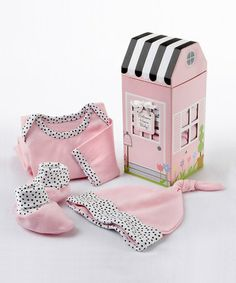 Love this Pink Welcome Home Layette Set - Infant by Baby Aspen on #zulily! #zulilyfinds