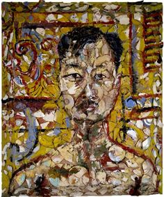 Julian Schnabel (American: - Portrait of Michael Chow, 1984 Mr Chow, Alma Thomas, Central Saint Martins, New York Art, Chinese Restaurant, Online Gallery, Art World, Futuristic, Contemporary Art