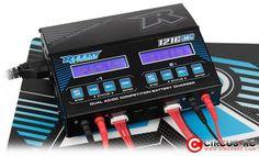 Chargeur de compétition Reedy 1216-C2 Dual AC/DC disponible avec des cordons d