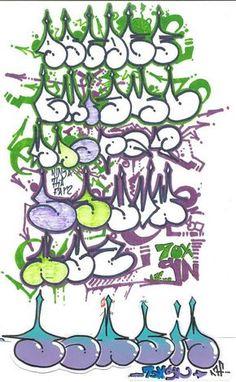 graffiti-alphabet-bubble-letters_105264.jpg (702×1139)