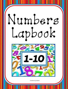 Number Units / Worksheets / Lapbook for PreK - Kindergarten Download Club members can download @ http://www.christianhomeschoolhub.com/pt/Numbers-PreK-through-Kindergarten/wiki.htm  #homeschool #Prek #Kindergarten
