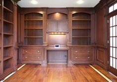 Library traditional home office