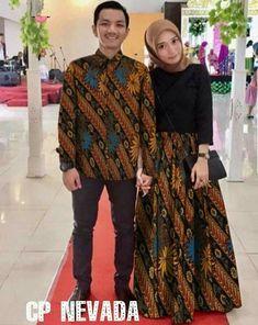 party(hijab fashion) Model Dress Batik, Batik Dress, Muslim Fashion, Hijab Fashion, Fashion Outfits, Batik Muslim, Dress Batik Kombinasi, Kebaya Modern Hijab, Mode Batik
