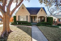 Tudor Style.... love the older homes - so much interest & charm!  -  703 Newell Avenue, Dallas, TX 75223 Home for Sale - Christie Cannon Keller Williams Real Estate